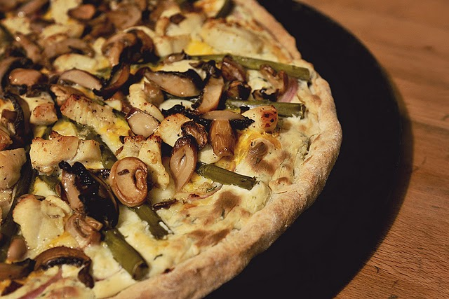 Chicken Pizza Pie from SImply Gourmet Photography