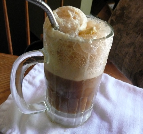 ... No matter … I will bring other drinks too. Maybe a root beer float