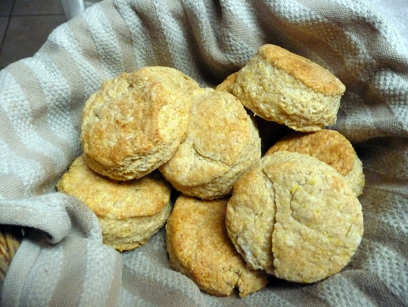 Parmesan Cornmeal Biscuits