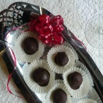 Chocolate Cherry Cabernet Talking Truffles