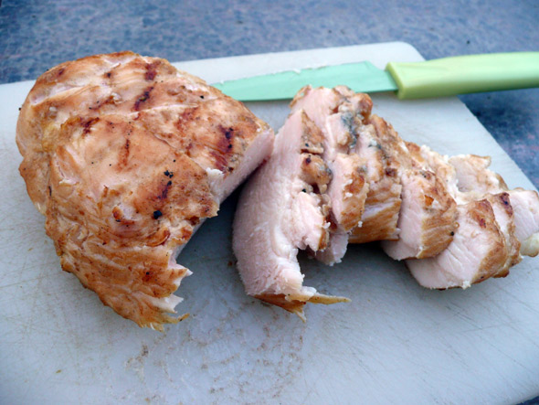 Barbecued Chicken Marinaded in Yogurt and Buttermilk