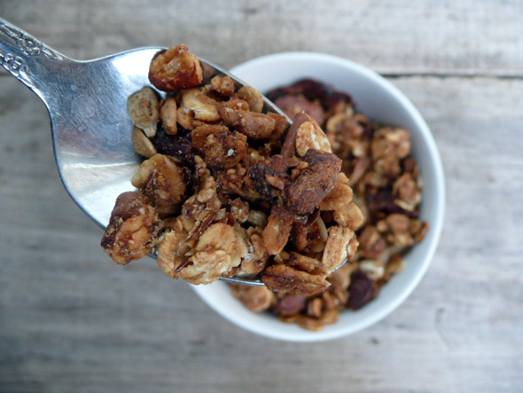 Make your Own Maple Cranberry Pecan Granola