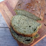 Sunflower Spinach Parmesan Bread