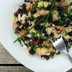 Mulberry, Sausage and Couscous Salad