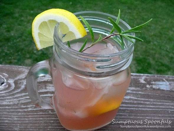Rhubarb Rosemary Country Cocktail