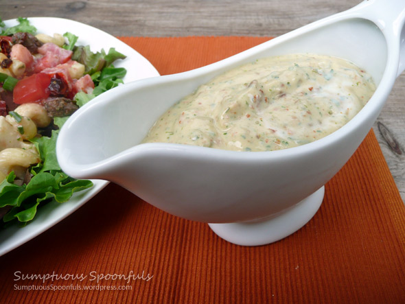 Sundried Tomato Ranch Dressing (or Dip)