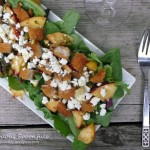Peach, Pistachio & Chicken Salad with Goat Cheese