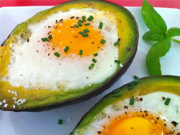 Baked Egg Avocados from Fountain Avenue Kitchen