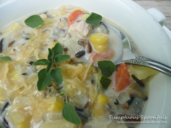 Creamy Cheesy Chicken Wild Rice Soup