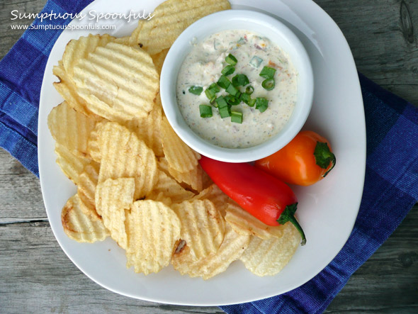 Dilly Bacon & Roasted Pepper Dip