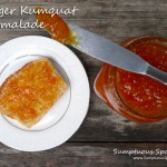 Super Easy Ginger Kumquat Marmalade ~ Sumptuous Spoonfuls #marmalade #recipe