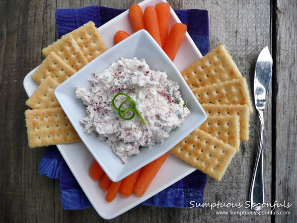 Corned Beef & Chevre Cheese Spread