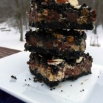 Ooey Gooey Oreo Toffee 7 Layer Bars ~ Sumptuous Spoonfuls #oreo #toffee #recipe