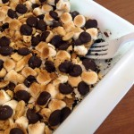 Peanut Butter Smoreo Bars ~ Sumptuous Spoonfuls #oreo #peanut butter #marshmallow #bars