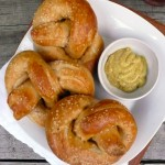 Authentic German Pretzels ~ Sumptuous Spoonfuls #pretzel #recipe