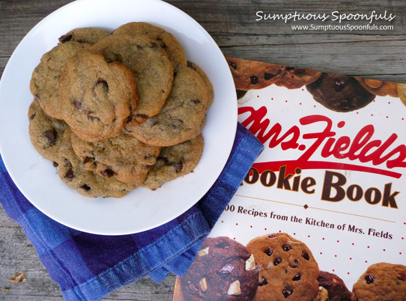 Mrs. Fields Blue Ribbon Chocolate Chip Cookies