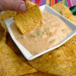 Queso Blanco {Mexican White Cheese Dip} ~ Sumptuous Spoonfuls #dip #recipe