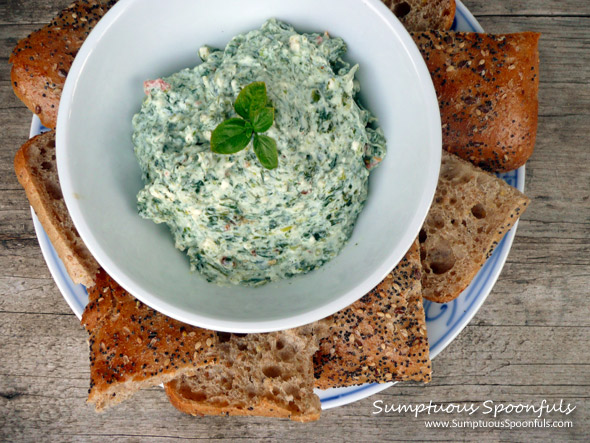 Spanakopita Dip {Spinach & Feta with Dill}