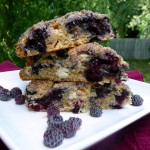 Black Raspberry White Chocolate Scones ~ Sumptuous Spoonfuls #scone #recipe