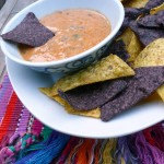 Mexican Queso Dip Supreme ~ Sumptuous Spoonfuls #dip #recipe