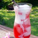 Strawberry Rose Italian Cream Sodas ~ Sumptuous Spoonfuls #Cream #Soda #Recipe