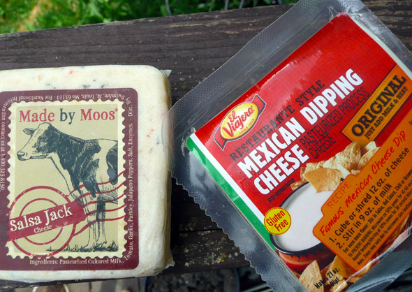 Delicious cheeses for making queso