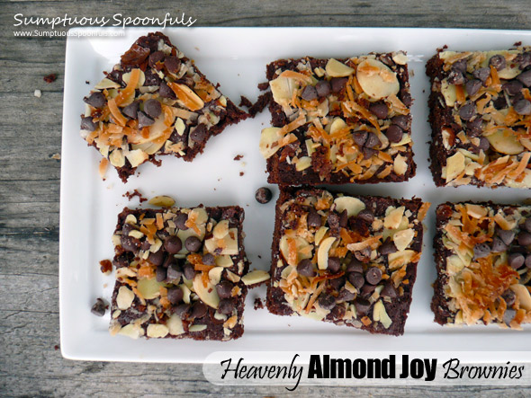 Heavenly Almond Joy Brownies