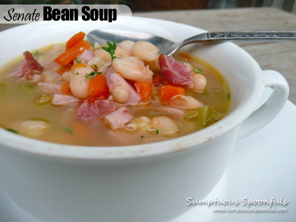 Senate Bean Soup ~ slightly modified by Sumptuous Spoonfuls