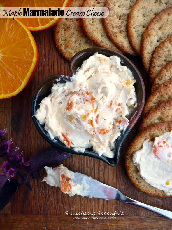 Maple Marmalade Cream Cheese