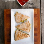 Bacon, Avocado & Egg Quesadilla ~ Sumptuous Spoonfuls #breakfast #recipe