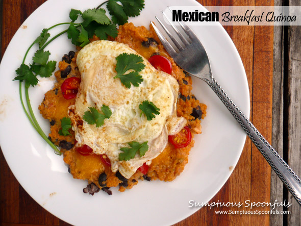 Mexican Breakfast Quinoa