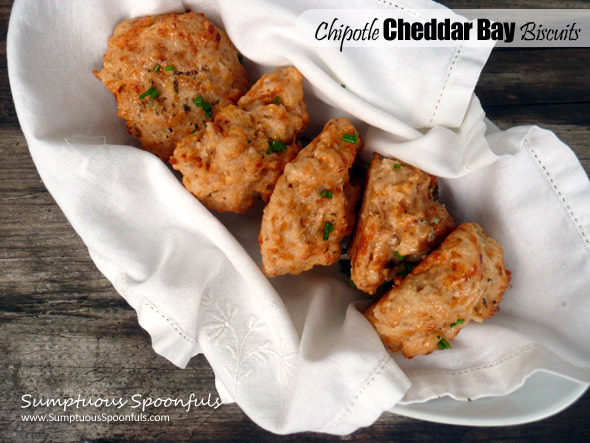 Chipotle Cheddar Bay Biscuits