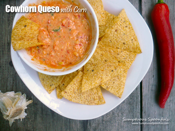 Cowhorn Queso with Corn