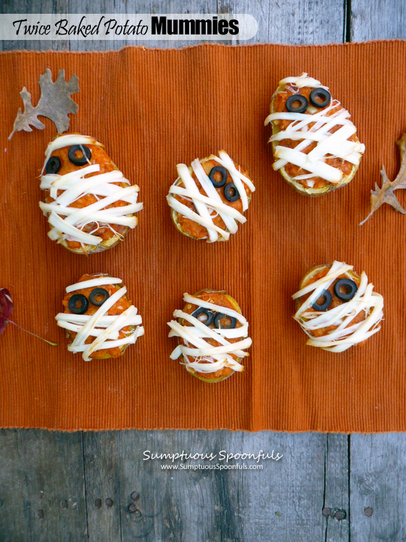 Twice Baked Potato Mummies