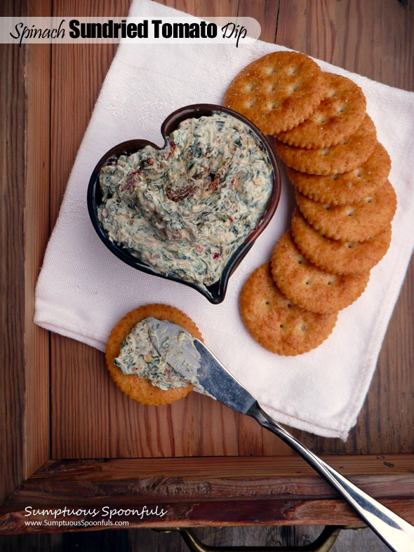 Spinach Sundried Tomato Dip