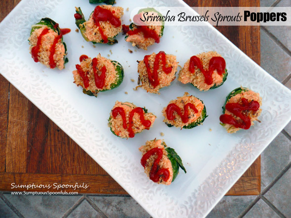 Sriracha Brussels Sprout Poppers
