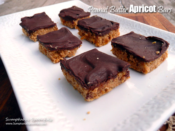 Peanut Butter Apricot Bars