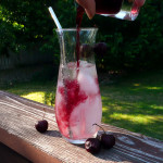 Maple Cherry Italian Cream Sodas ~ Sumptuous Spoonfuls #summer #drink #recipe