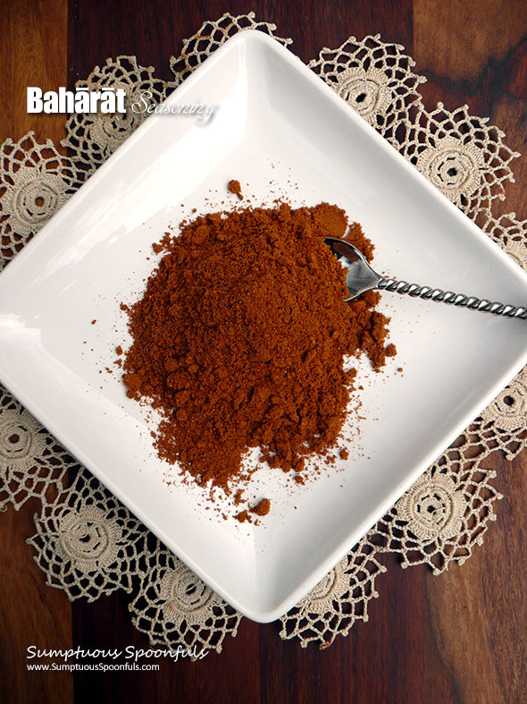 Baharat Seasoning ~ Sumptuous Spoonfuls #MiddleEastern #spice #recipe