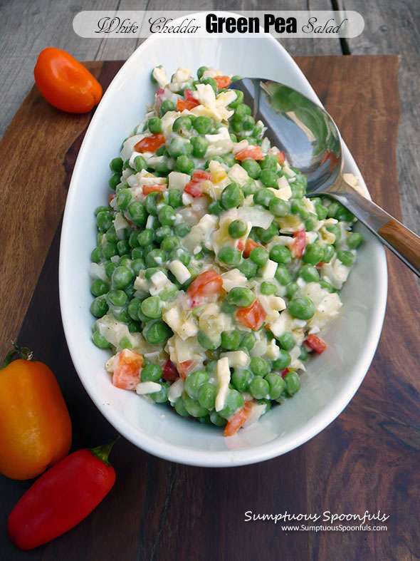 White Cheddar Green Pea Salad