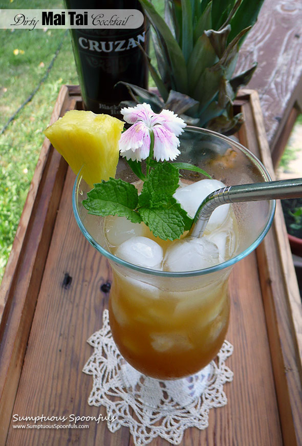Dirty Mai Tai Cocktail
