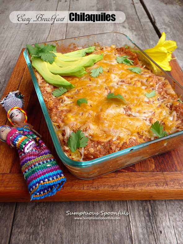 Easy Breakfast Chilaquiles