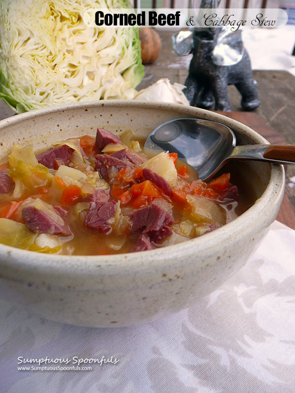 Corned Beef & Cabbage Stew