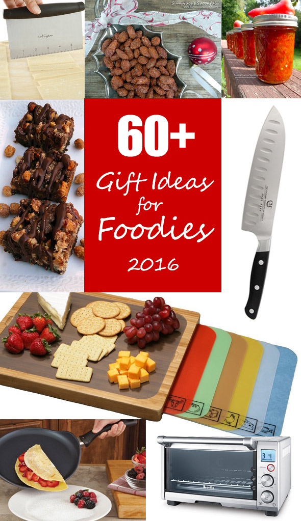 Over 60 Great Gift Ideas for Foodies ~ Sumptuous Spoonfuls #Holiday #Shopping #Guide 2016