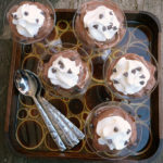 Boozy RumChata Chocolate Pudding ~ Sumptuous Spoonfuls #boozy #pudding #recipe