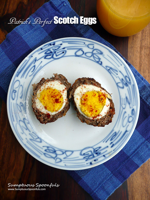 Patricks perfect scotch eggs sumptuous spoonfuls patricks perfect scotch eggs sumptuous spoonfuls sausage egg recipe tribute forumfinder Image collections