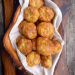 Bacon Dill Gougeres ~ Sumptuous Spoonfuls #French #Cheese #Puffs #Recipe
