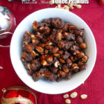 Chocolate Honey Toffee Peanuts ~ A toffee purist's recipe made with honey (no corn syrup!), vanilla and dipped in chocolate, like real toffee