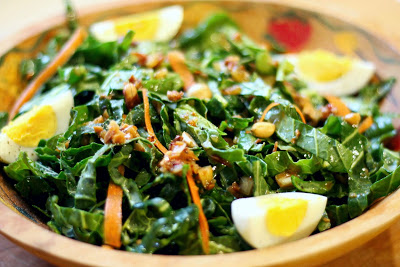 Bradford Collard Salad - Cooking with Mary & Friends