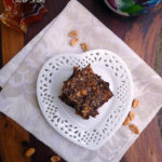 Peanut Butter Chocolate Fiber Bars ~ Make your own fiber bars at home! How can you go wrong with peanut butter and chocolate?